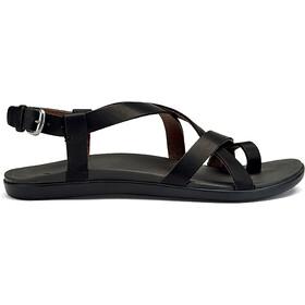 OluKai Upena Sandals Dame black/black